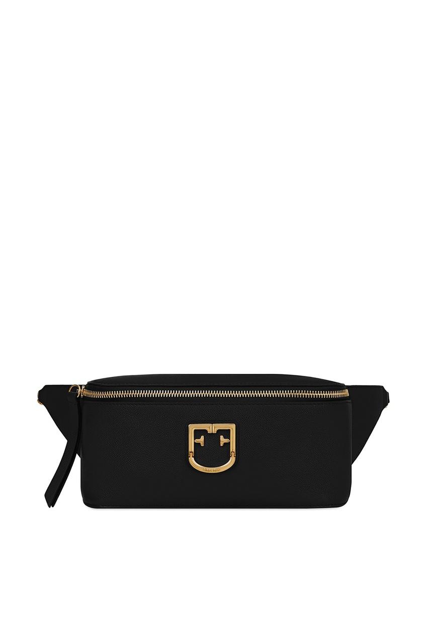 Купить Черная поясная сумка Isola черного цвета