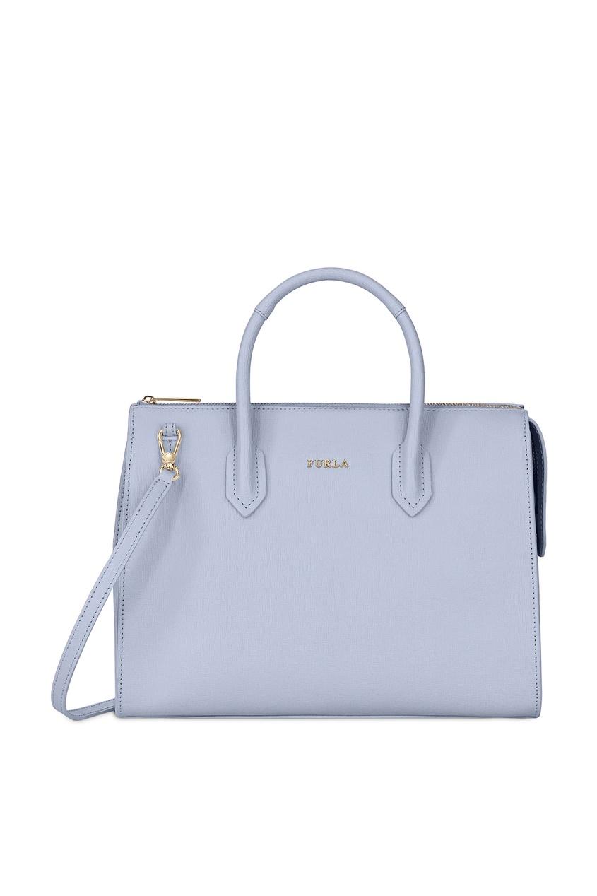 Фото - Сиреневая сумка Pin M фиолетового цвета
