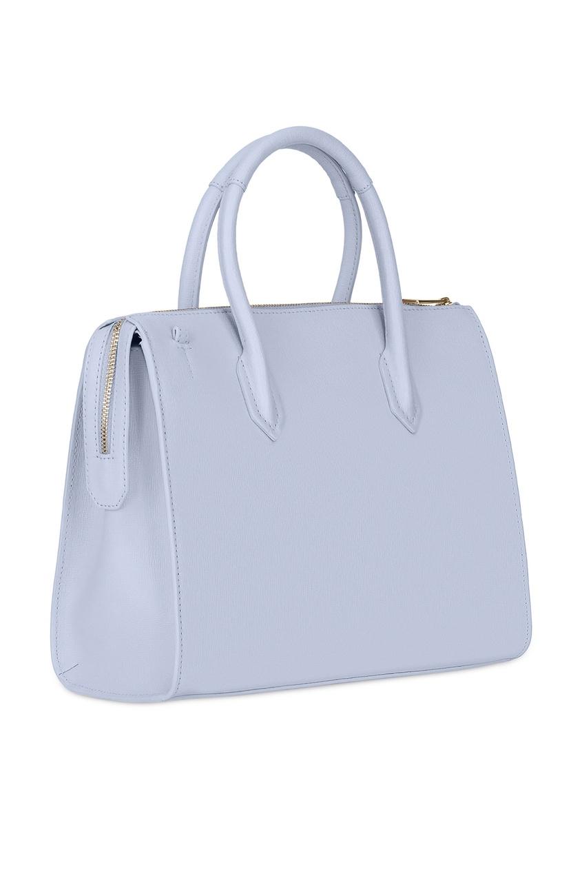 Фото 2 - Сиреневая сумка Pin M фиолетового цвета