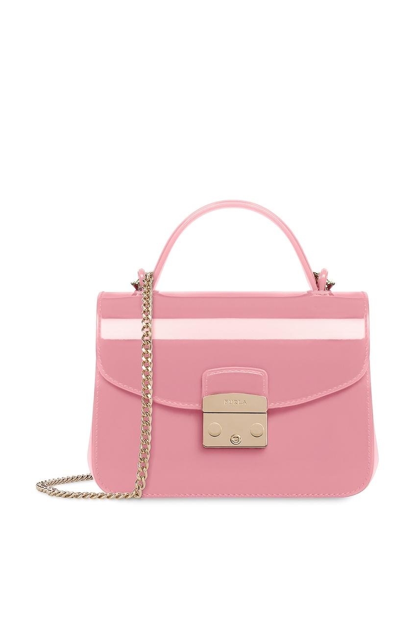 Купить Розовая сумка Candy розового цвета
