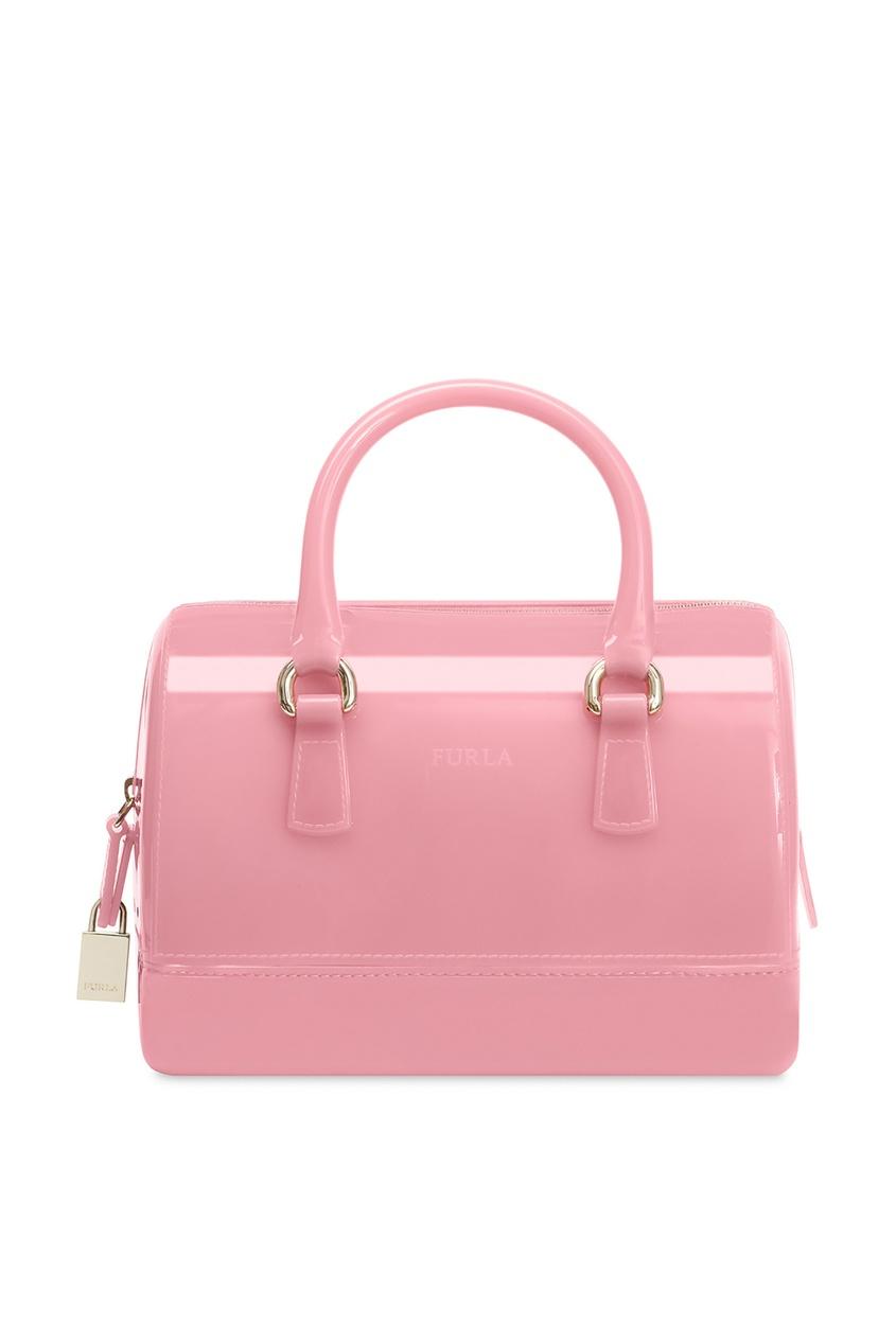 Купить Глянцевая розовая сумка Candy розового цвета