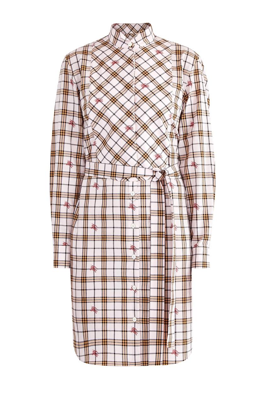 женское платье burberry