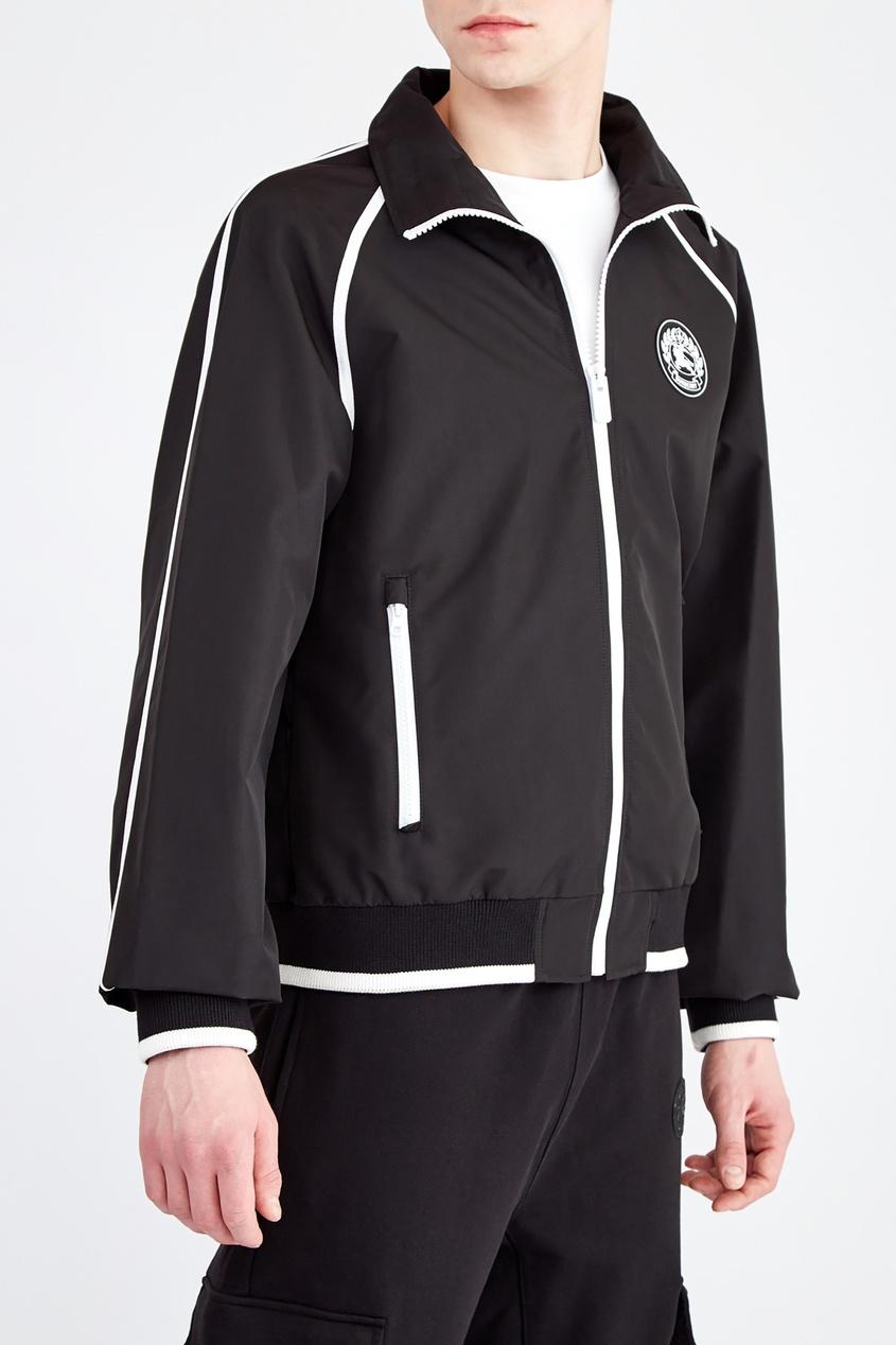 Куртка с контрастной отделкой от Burberry