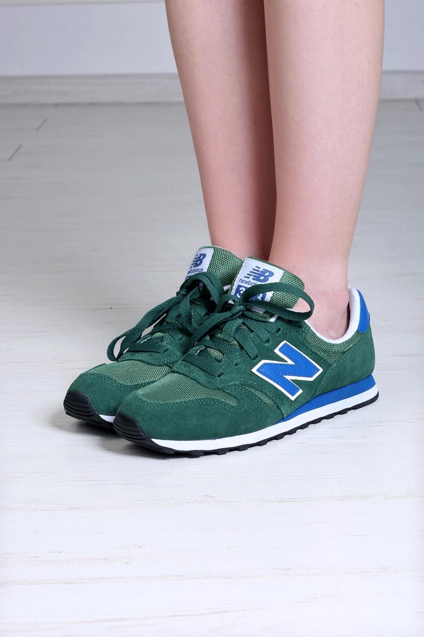 Замшевые кроссовки 373