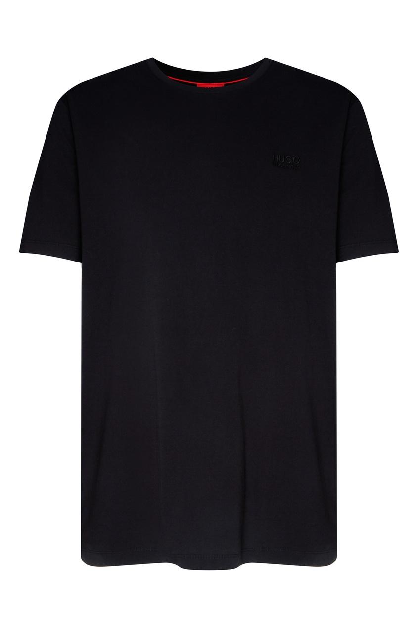 Купить Черная футболка от Hugo Boss черного цвета