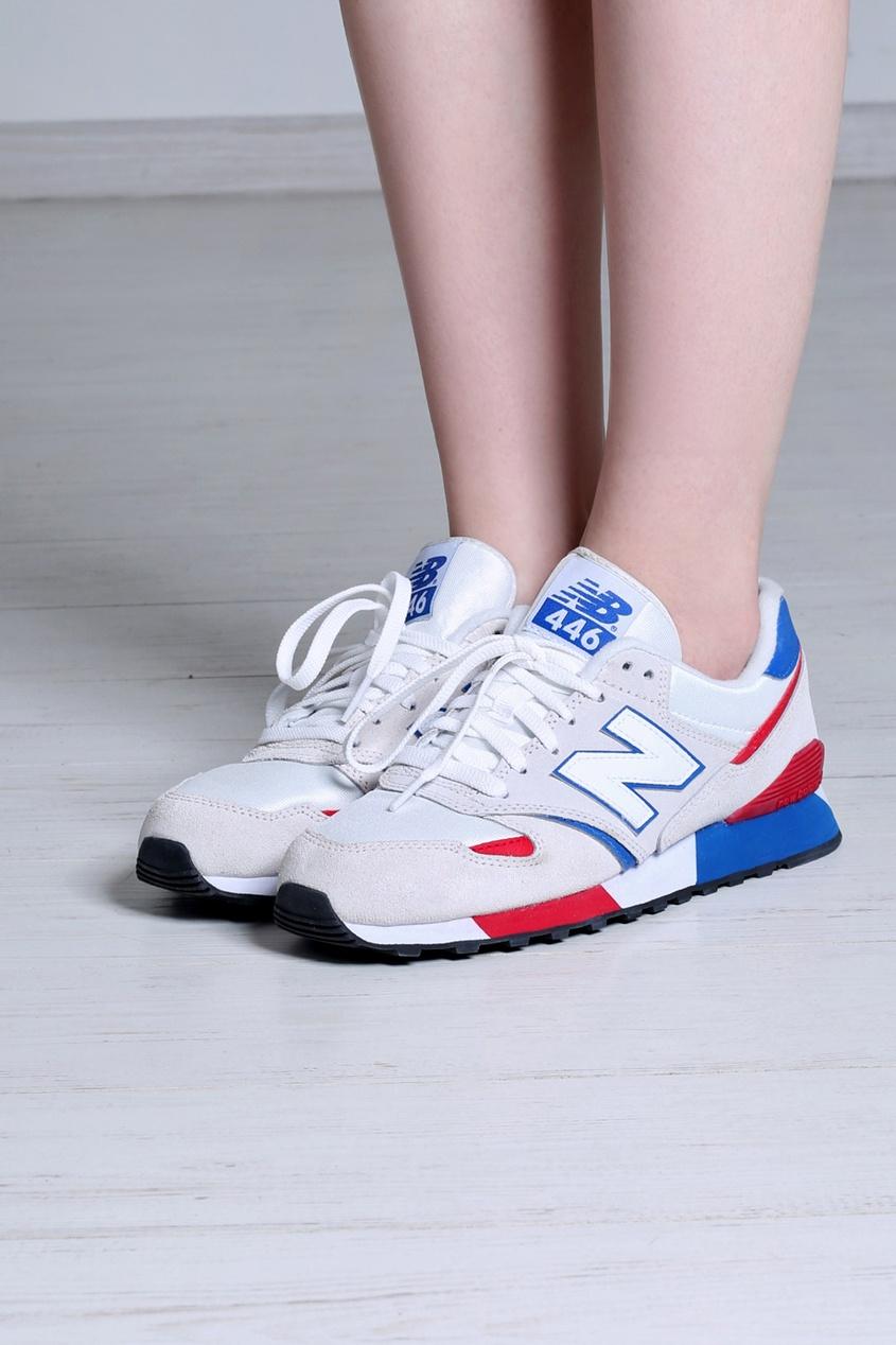 Замшевые кроссовки 446