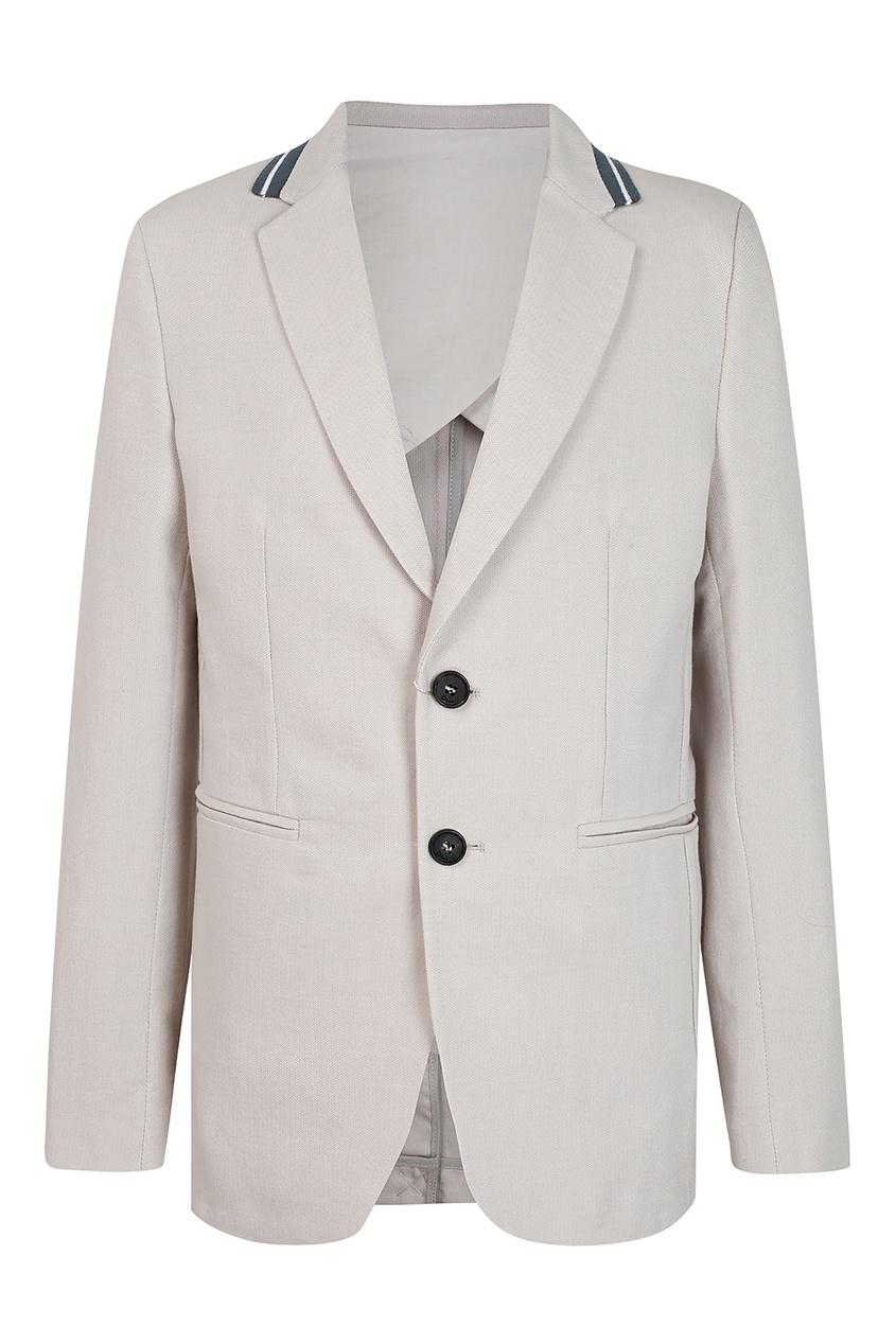 Купить Серый пиджак от Dior Kids серого цвета