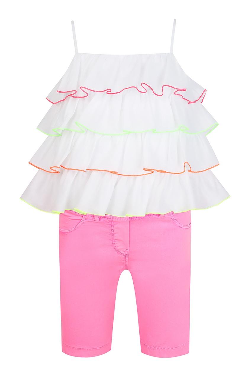 Купить Комплект с топом и брюками цвет multicolor