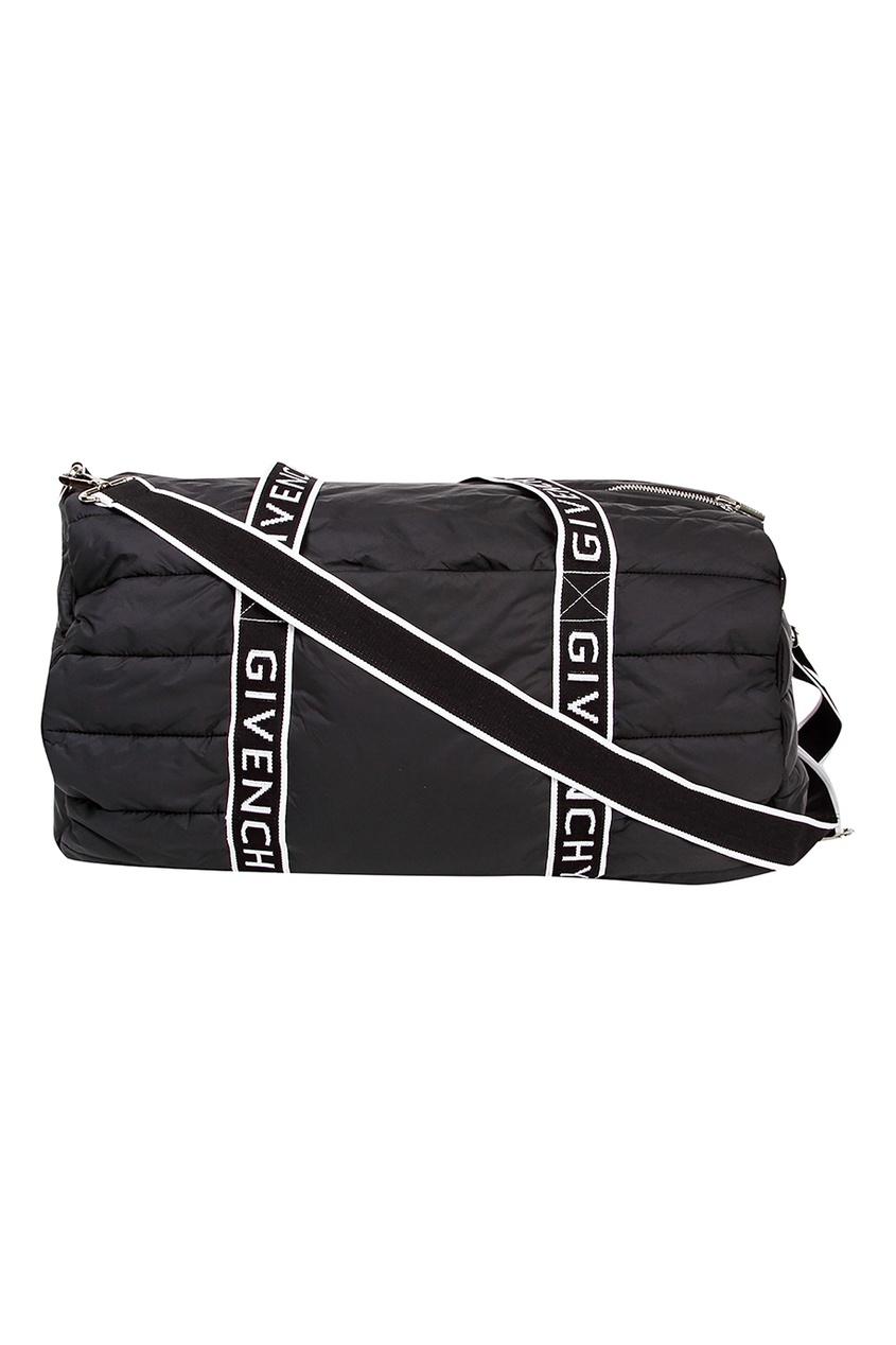 Купить Черная дорожная сумка черного цвета