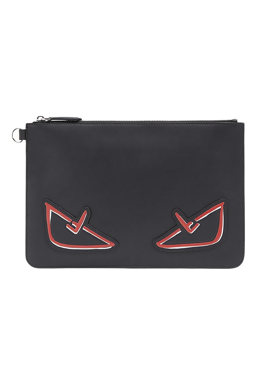 мужская сумка fendi, черная