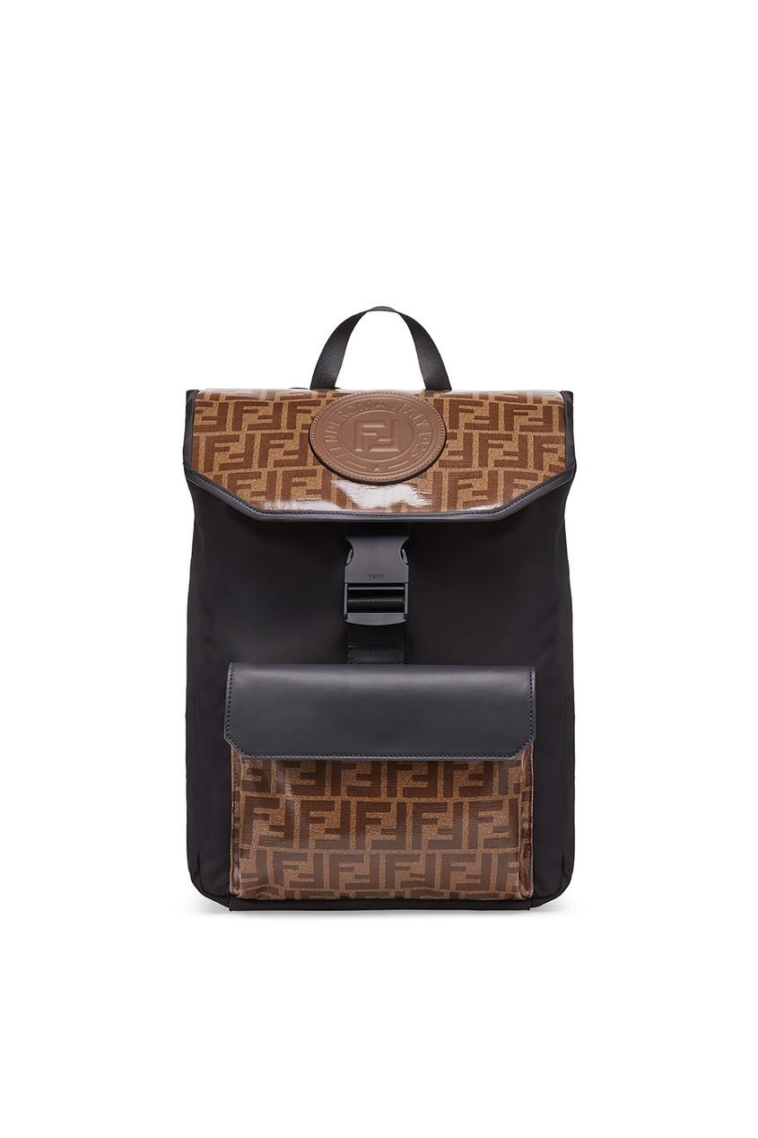 Купить Рюкзак с контрастной отделкой от Fendi цвет multicolor