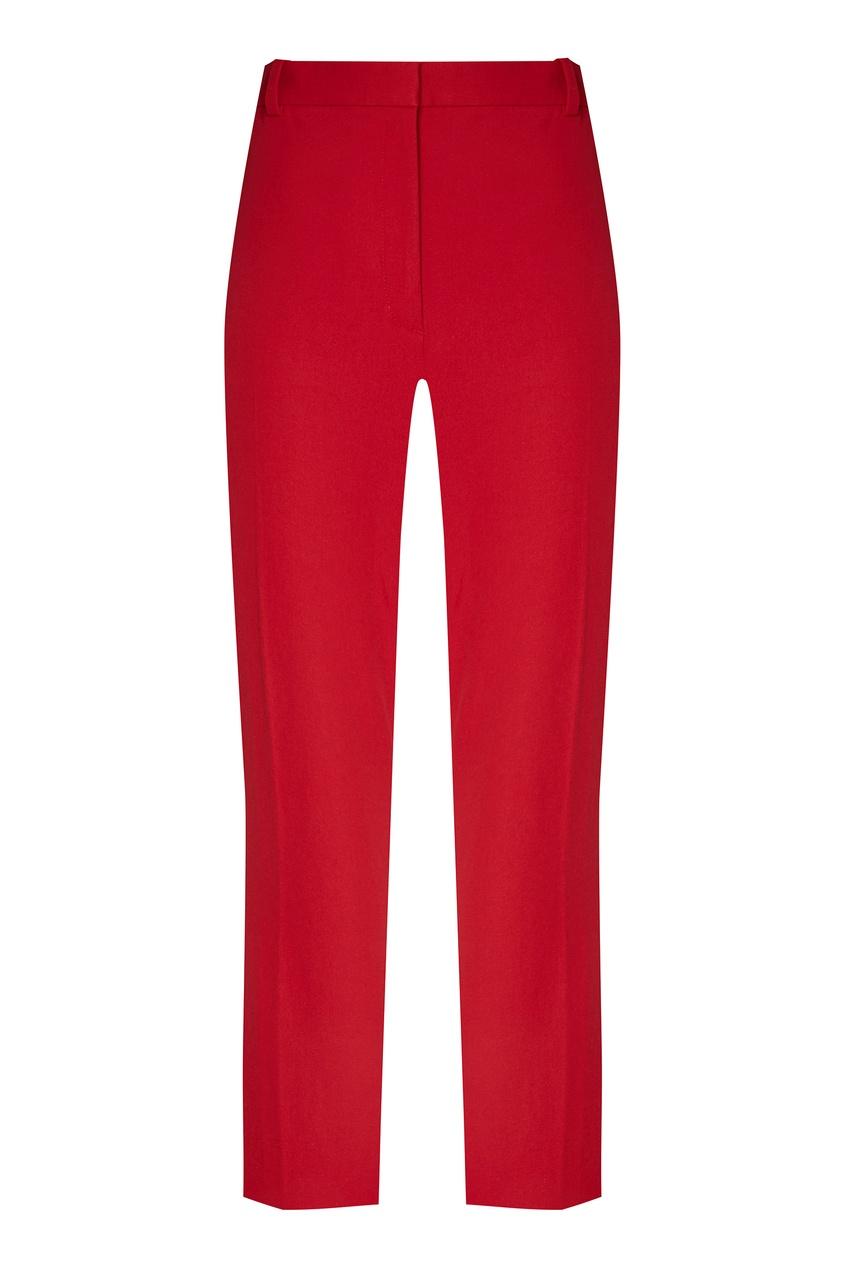 женские брюки joseph, красные