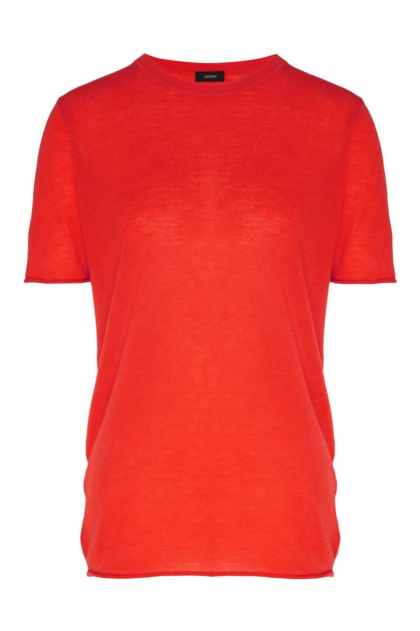Купить Красная футболка от Joseph красного цвета