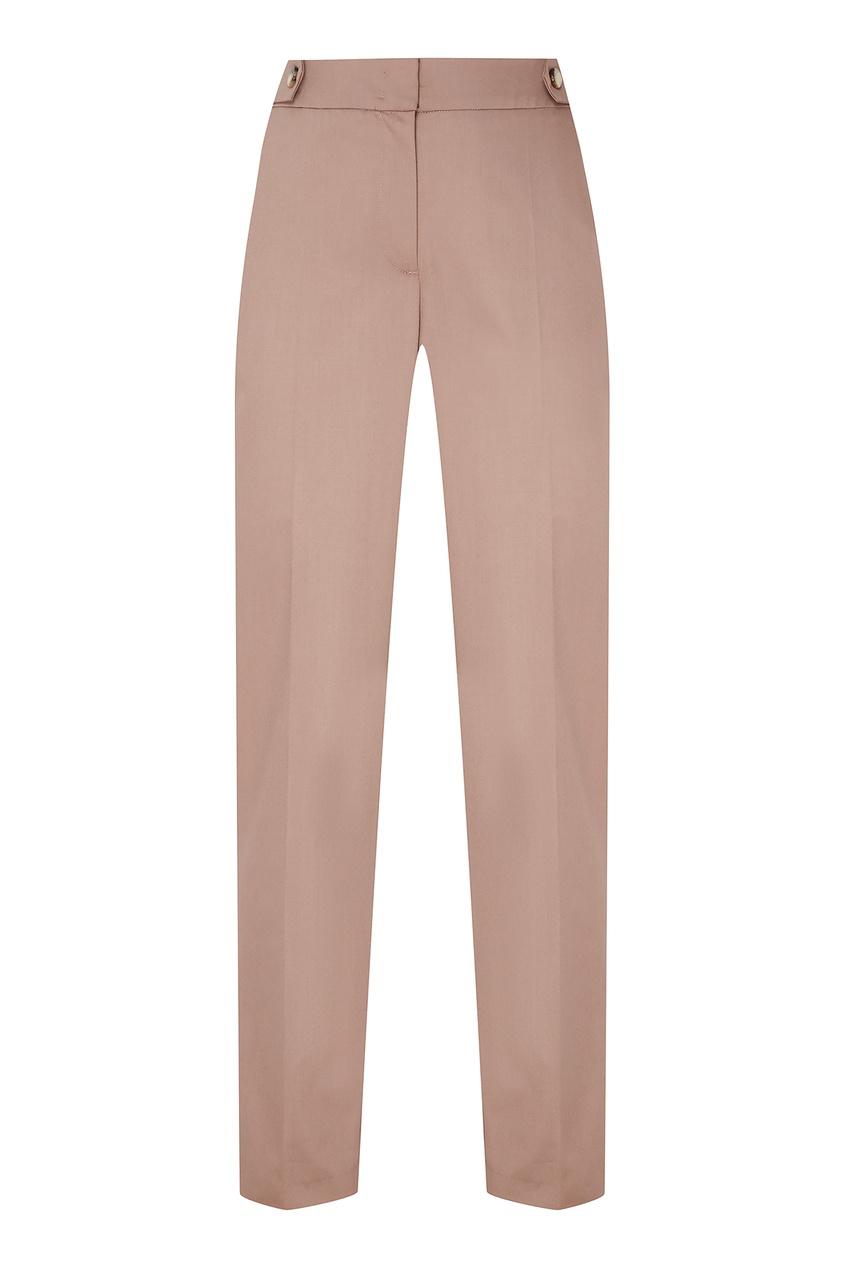 Фото - Бежевые брюки бежевого цвета