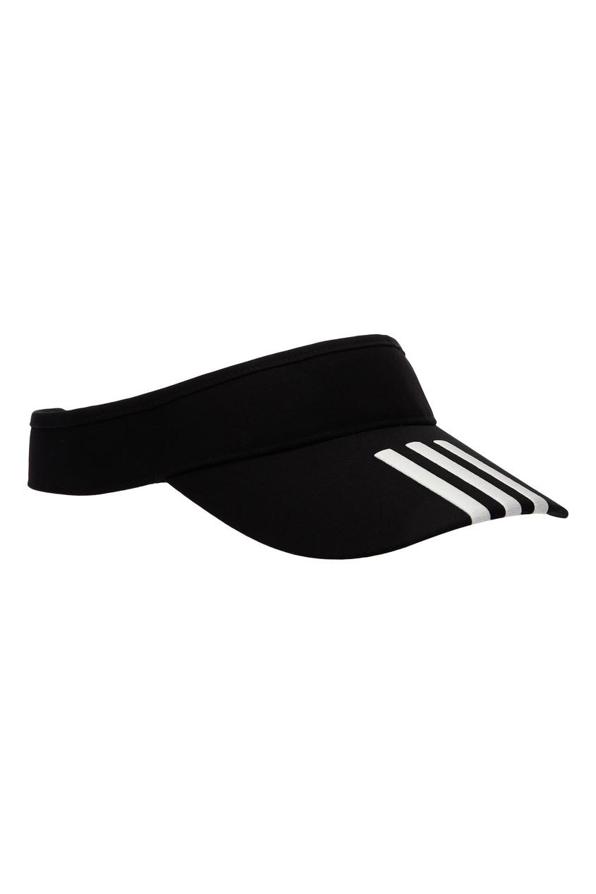 Купить Черная кепка-козырек от Y-3 черного цвета