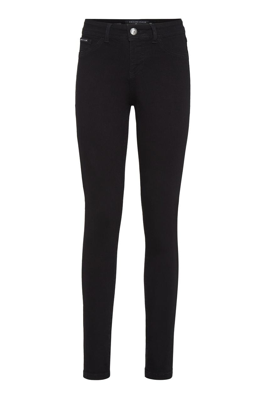 Купить Черные облегающие джинсы от Philipp Plein черного цвета