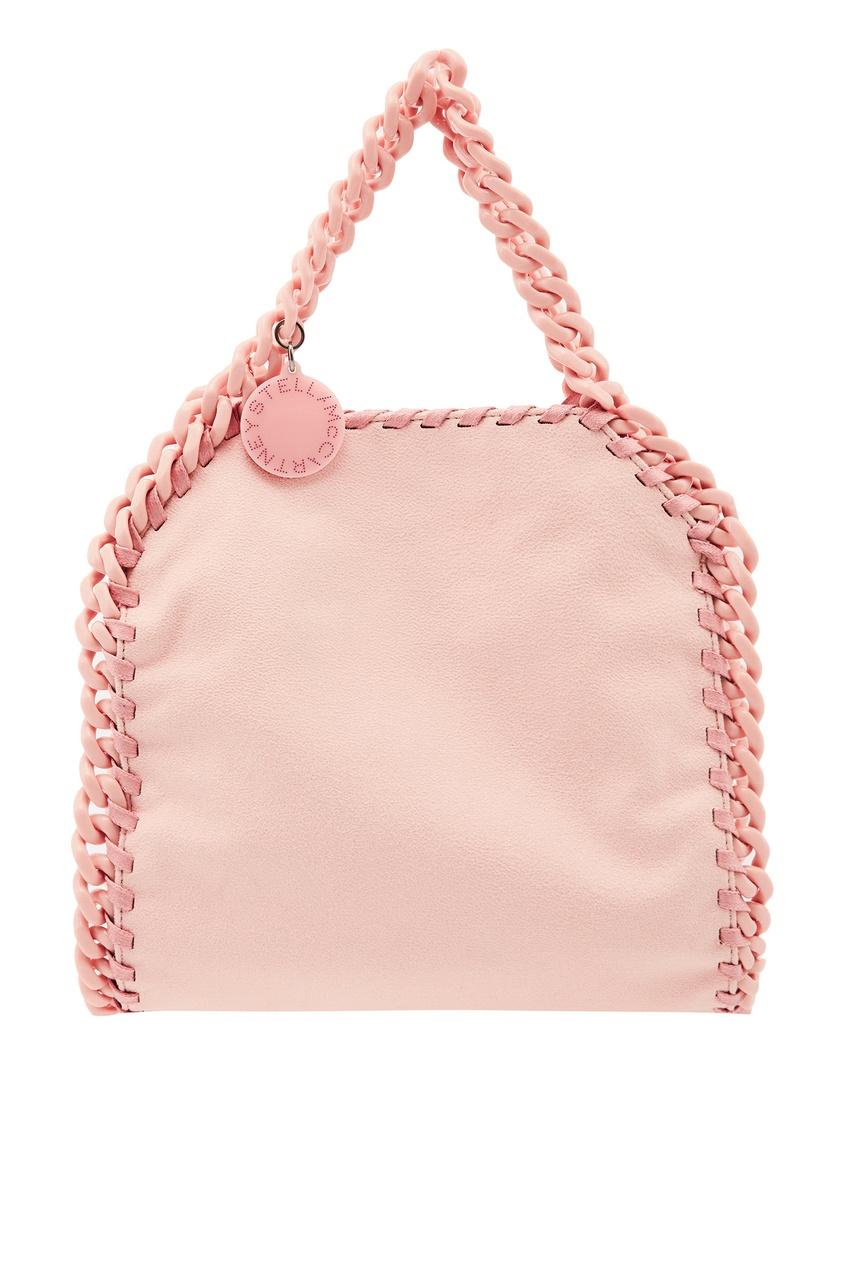 Купить Розовая сумка с цепочкой от Stella McCartney розового цвета