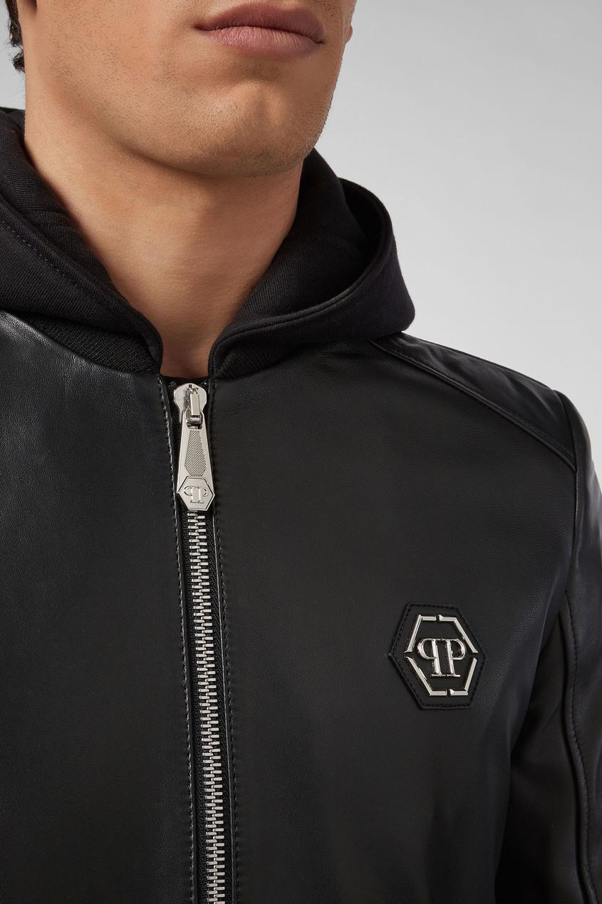 мужская куртка philipp plein, черная