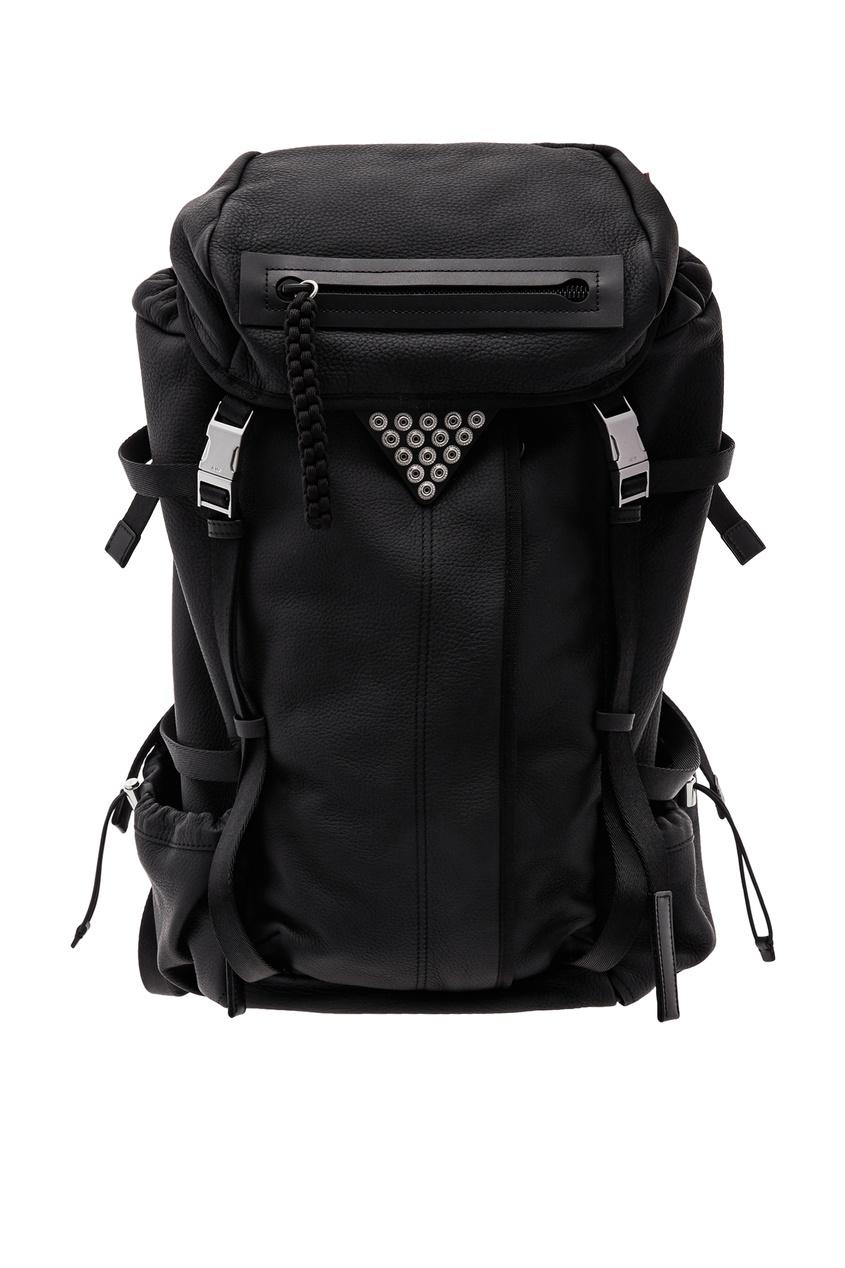 женский рюкзак alexander wang, черный