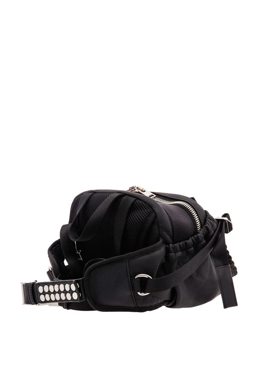 сумка alexander wang, черная