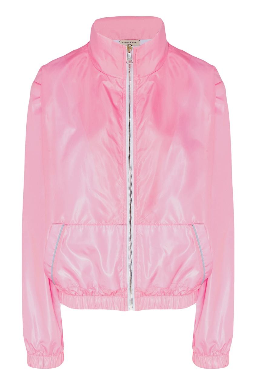 Купить со скидкой Розовая куртка
