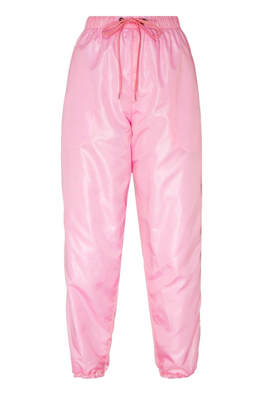 Купить Розовые брюки-джоггеры от Natasha Zinko розового цвета