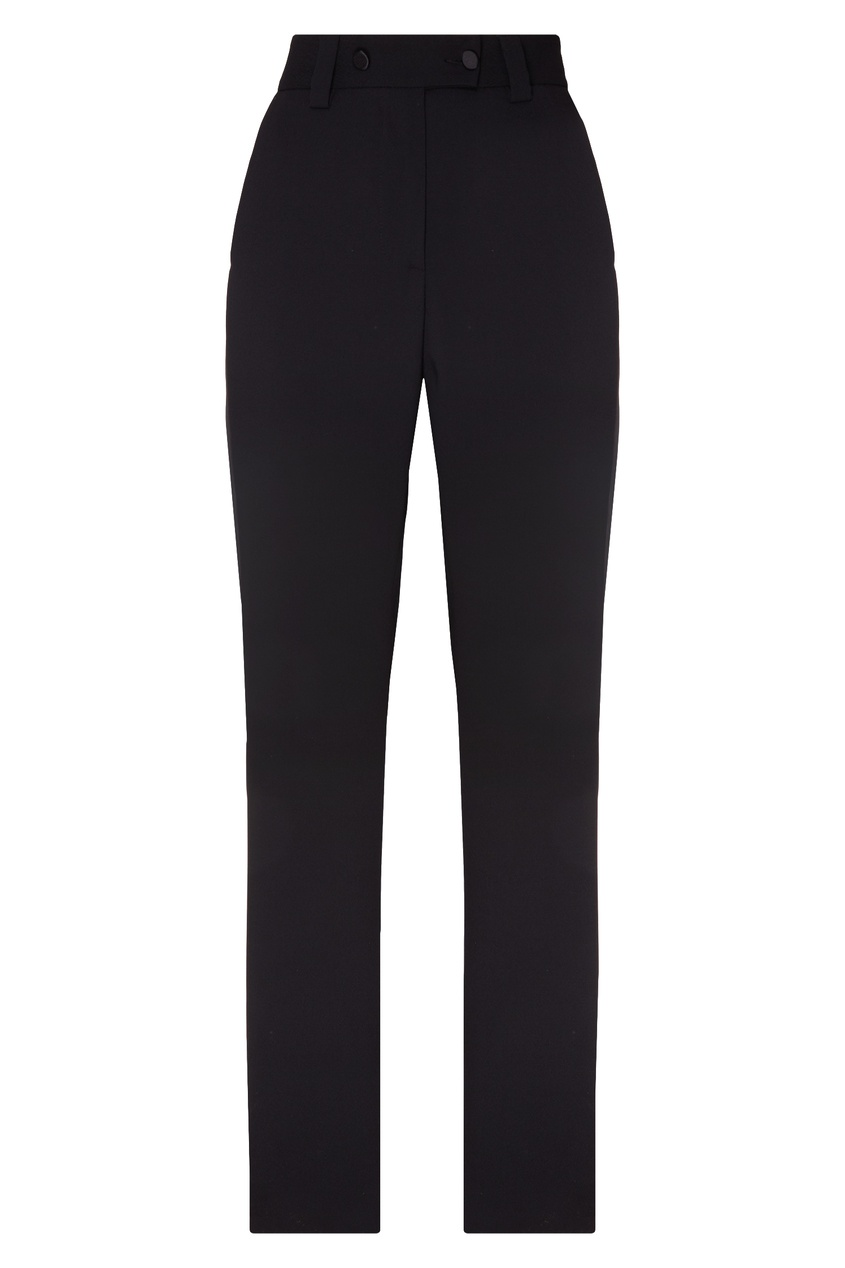женские брюки msgm, черные