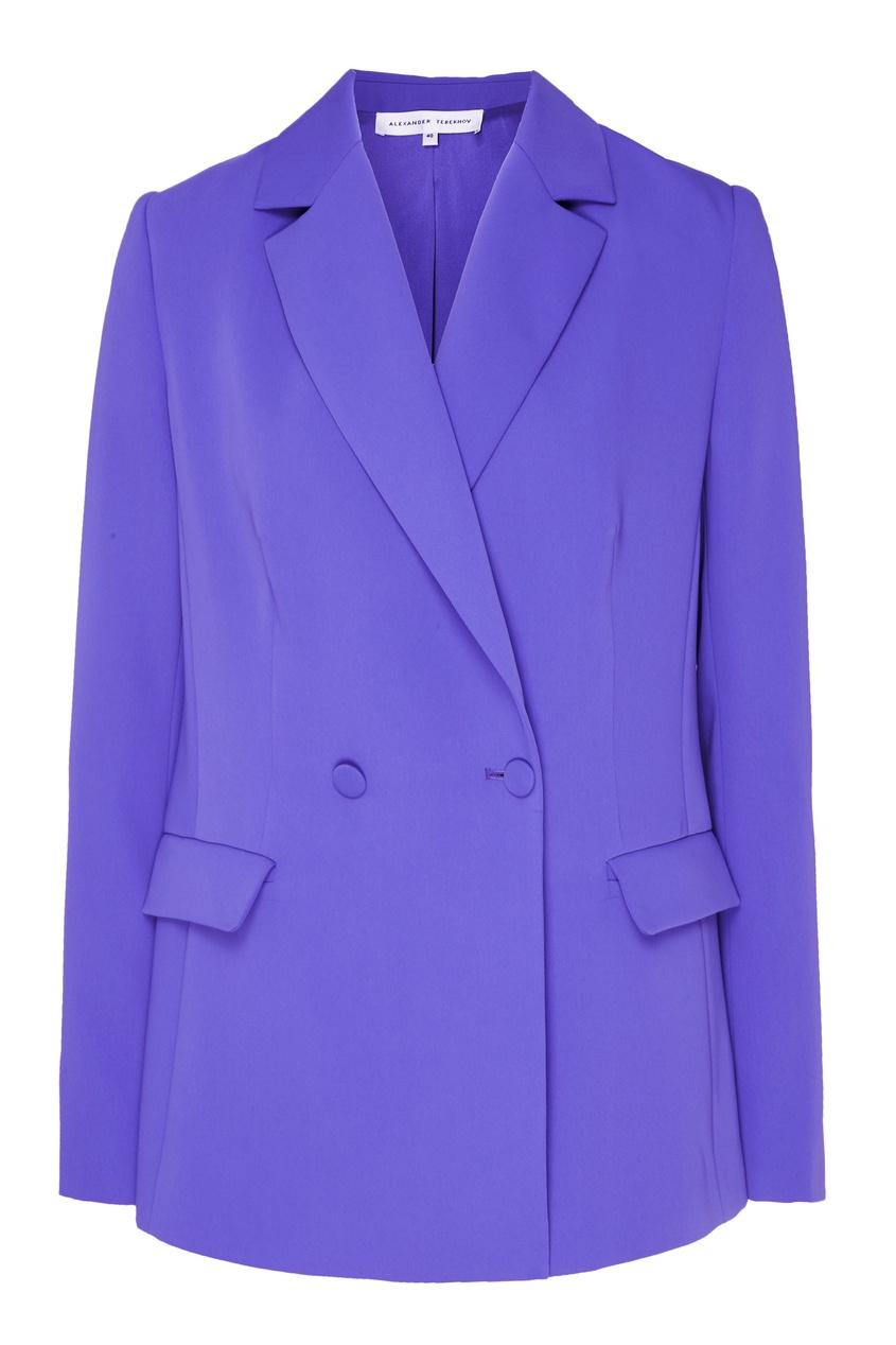 Купить Жакет лавандового оттенка от Alexander Terekhov фиолетового цвета