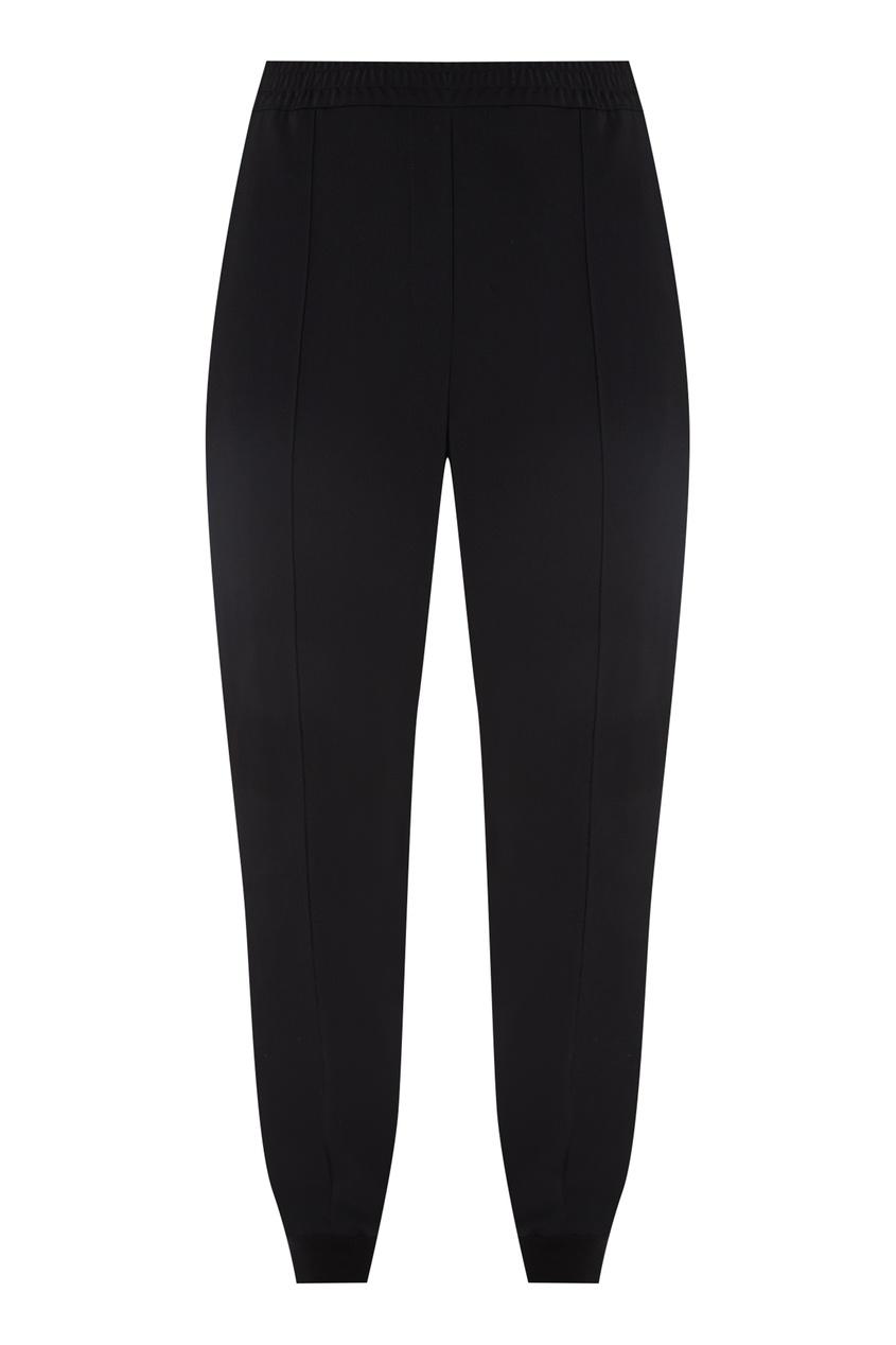 Купить Черные брюки со стразами от Alexander Terekhov черного цвета