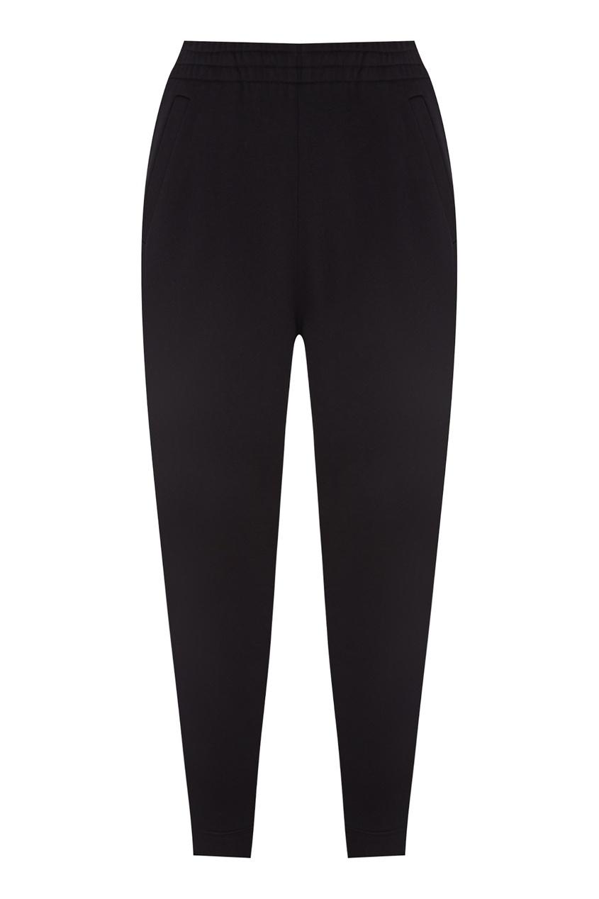 Купить Черные брюки в спортивном стиле от Alexander Terekhov черного цвета