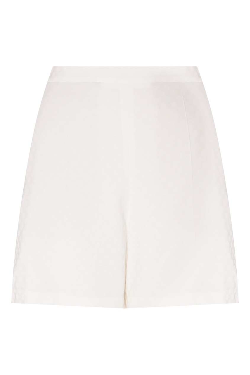 Купить Короткие белые шорты от Alexander Terekhov белого цвета