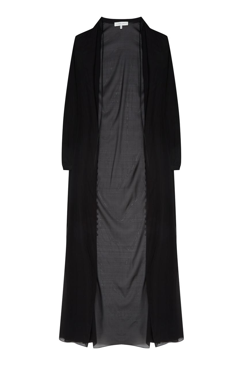 Купить Черное платье-макси от Alexander Terekhov черного цвета