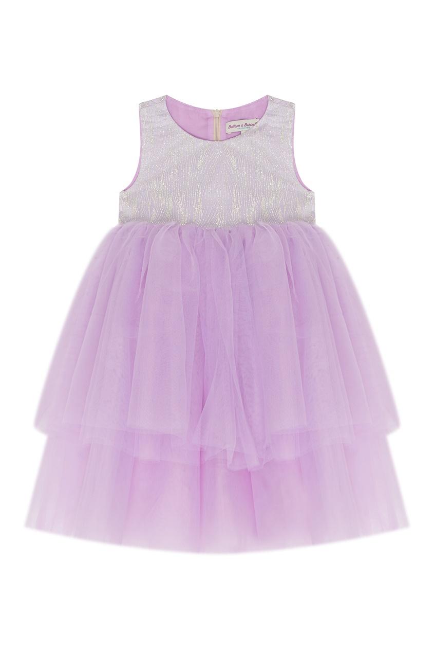 Нарядное платье с блестящей отделкой Balloon and Butterfly
