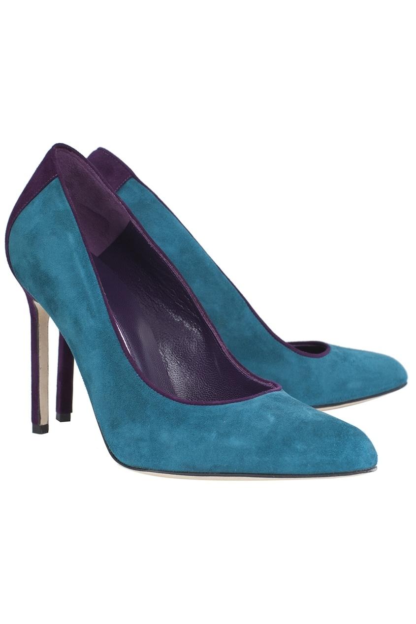 Замшевые туфли Saera.