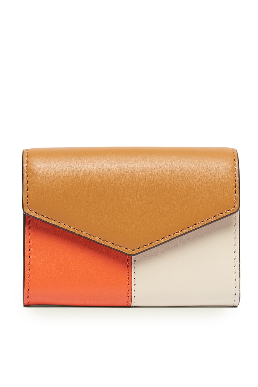 Купить Кожаный кошелек Lou от Sandro цвет multicolor