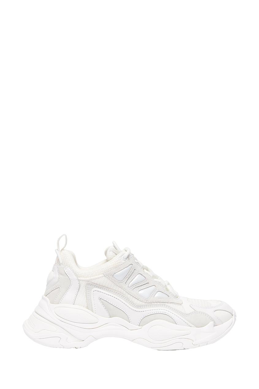 Купить Белые кроссовки Astro от Sandro белого цвета