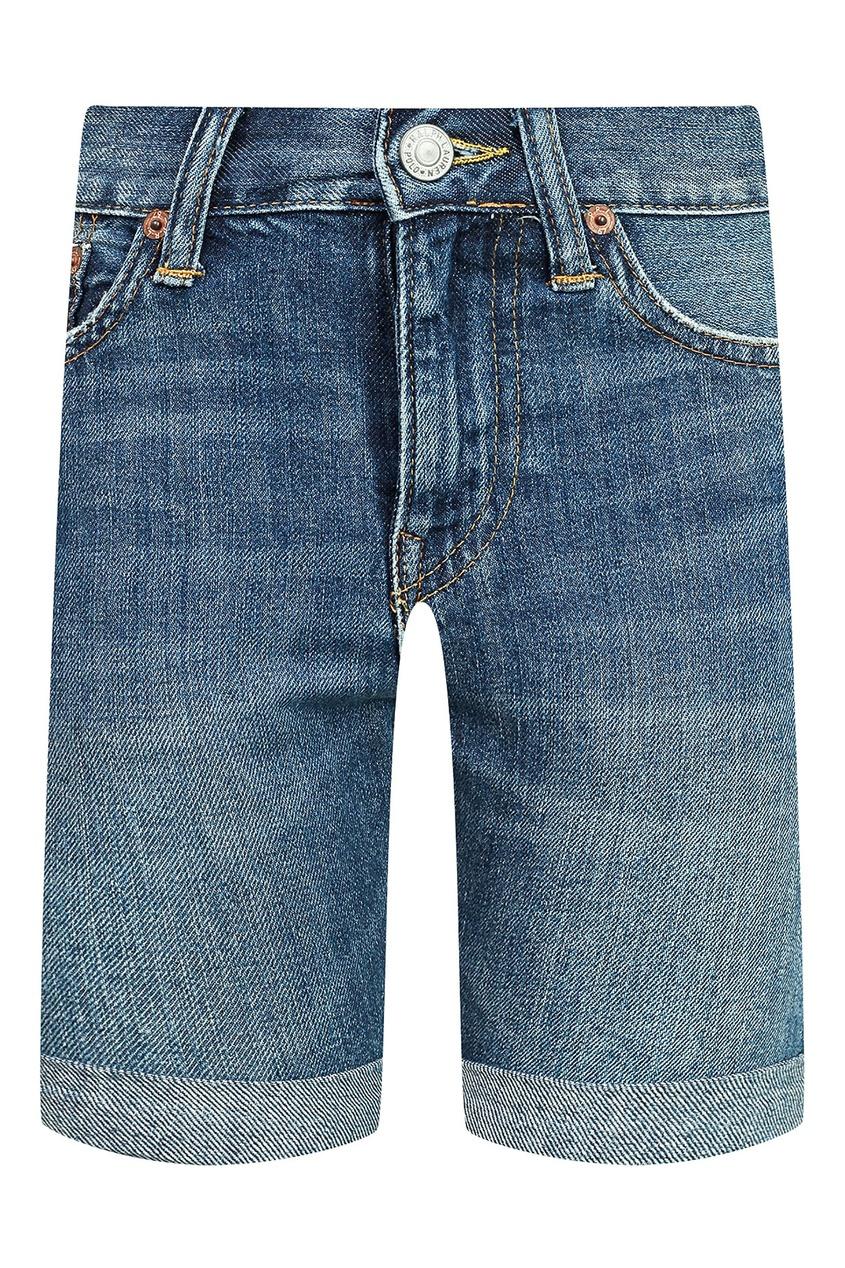 Купить Джинсовые шорты от Polo Ralph Lauren Kids синего цвета