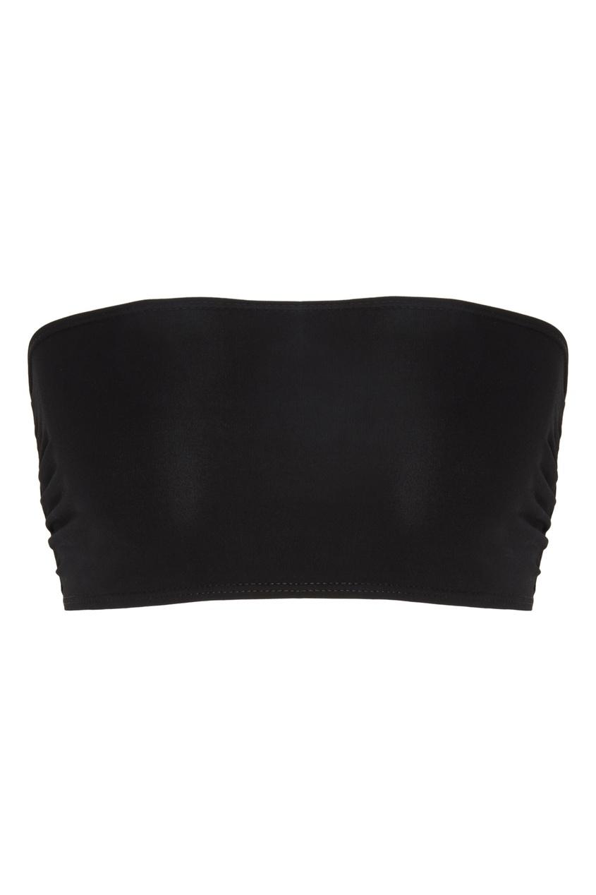 Купить Черный топ бандо от Alexandre Vauthier черного цвета