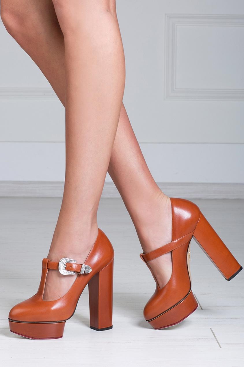 Кожаные туфли Ryder