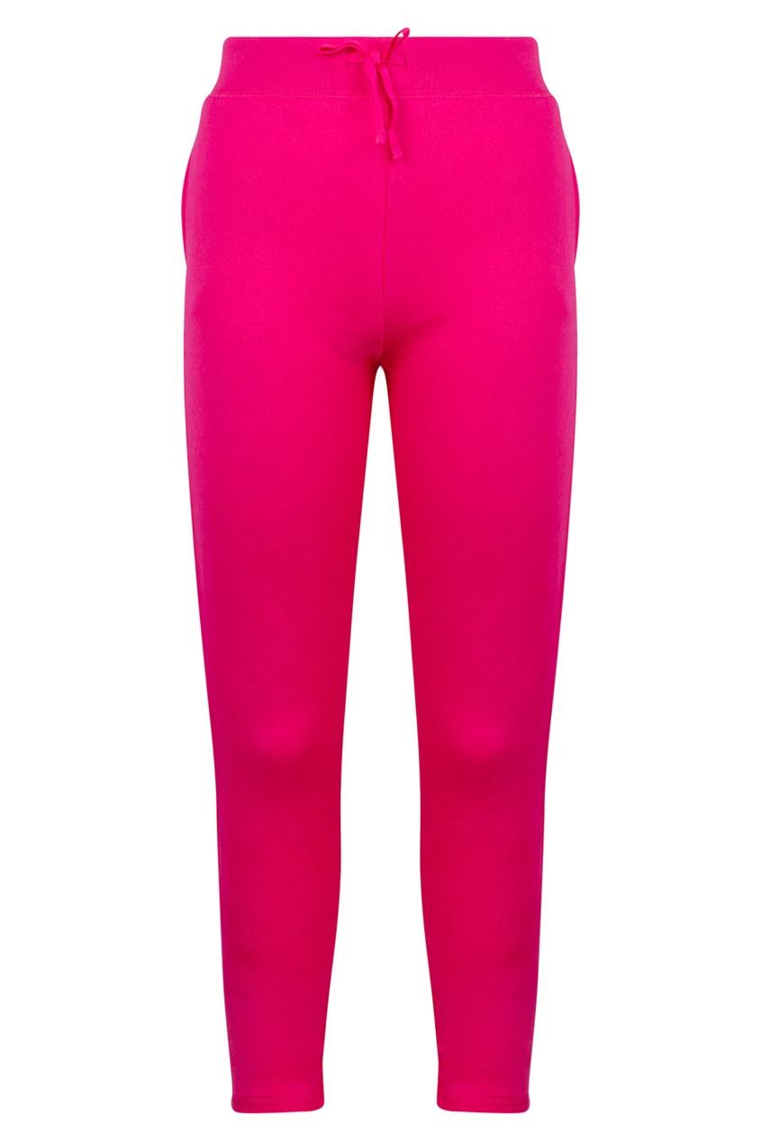 Купить Розовые брюки от Polo Ralph Lauren Kids розового цвета