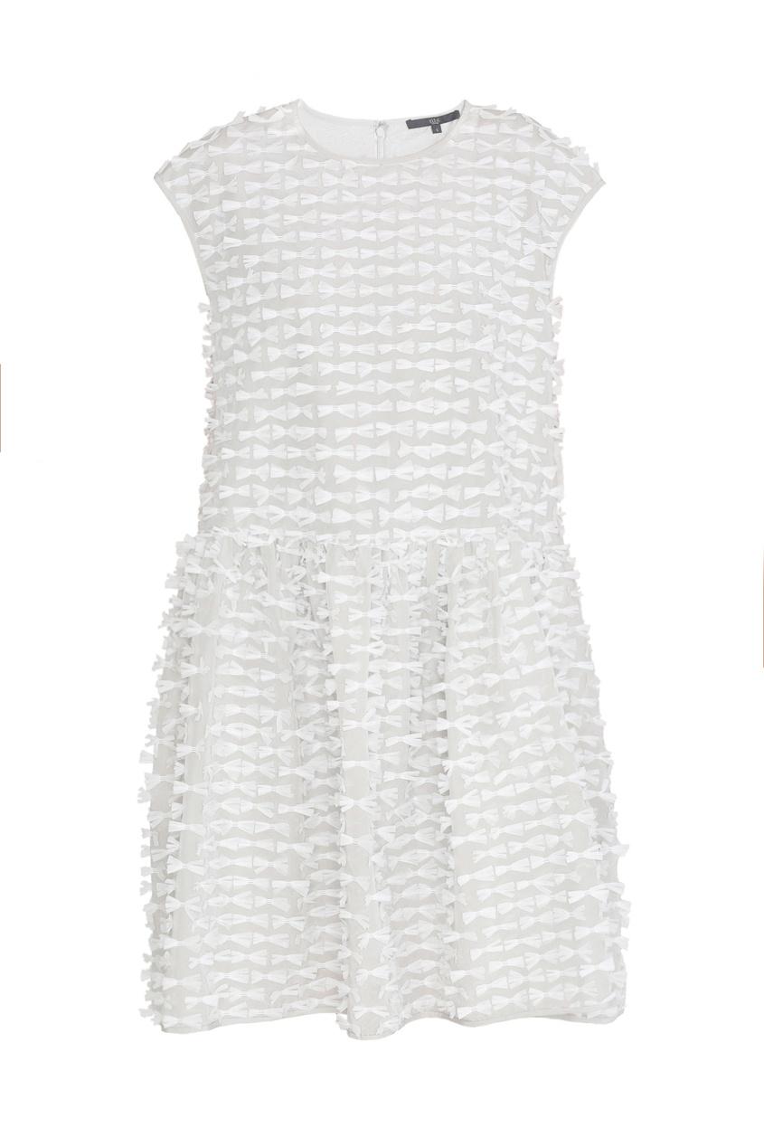 Tibi Платье с асимметричной юбкой