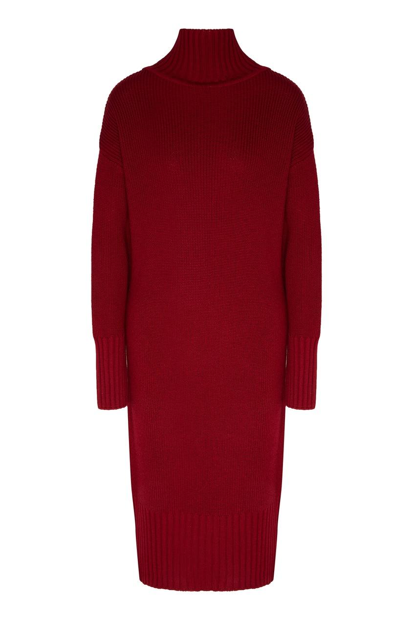 женское платье laroom, бордовое