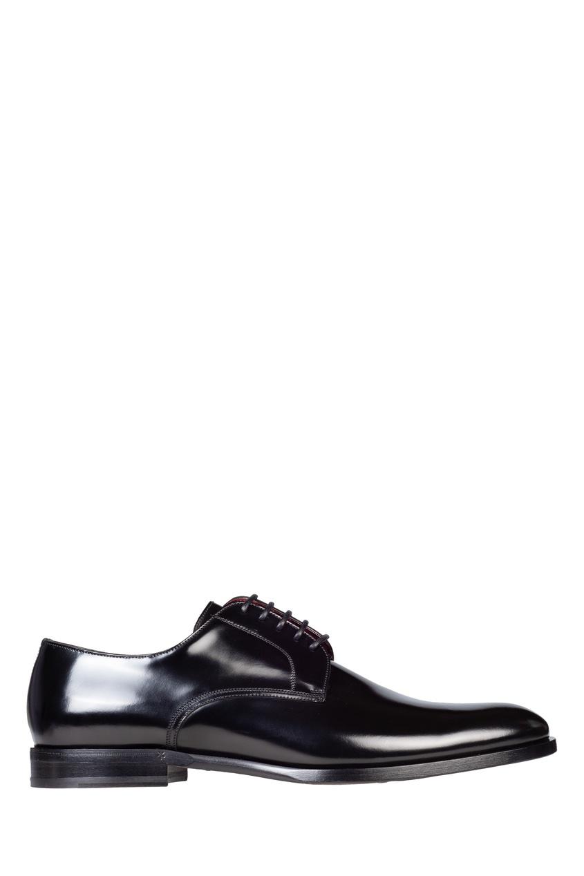 мужские туфли-оксфорды dolce & gabbana, черные