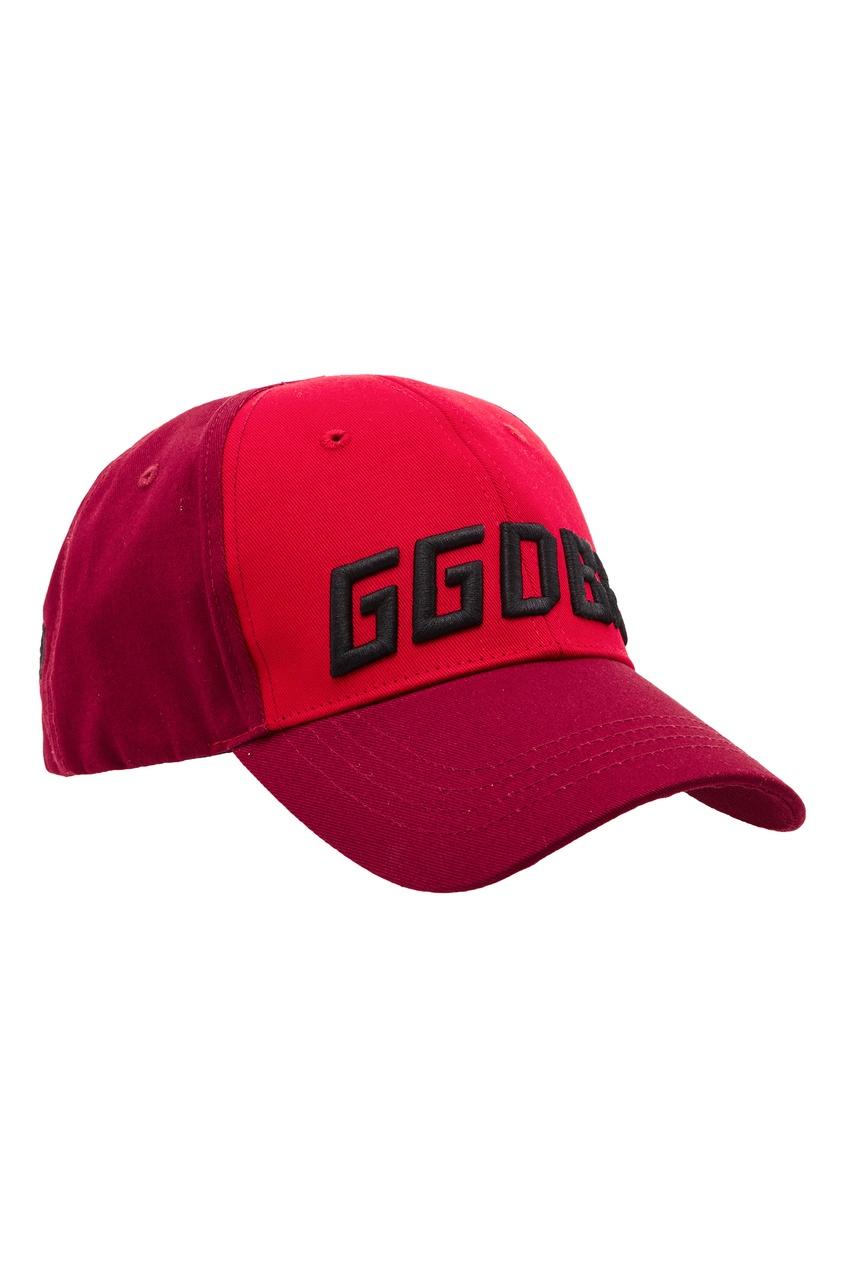 Купить Красная бейсболка Jackie от Golden Goose Deluxe Brand красного цвета
