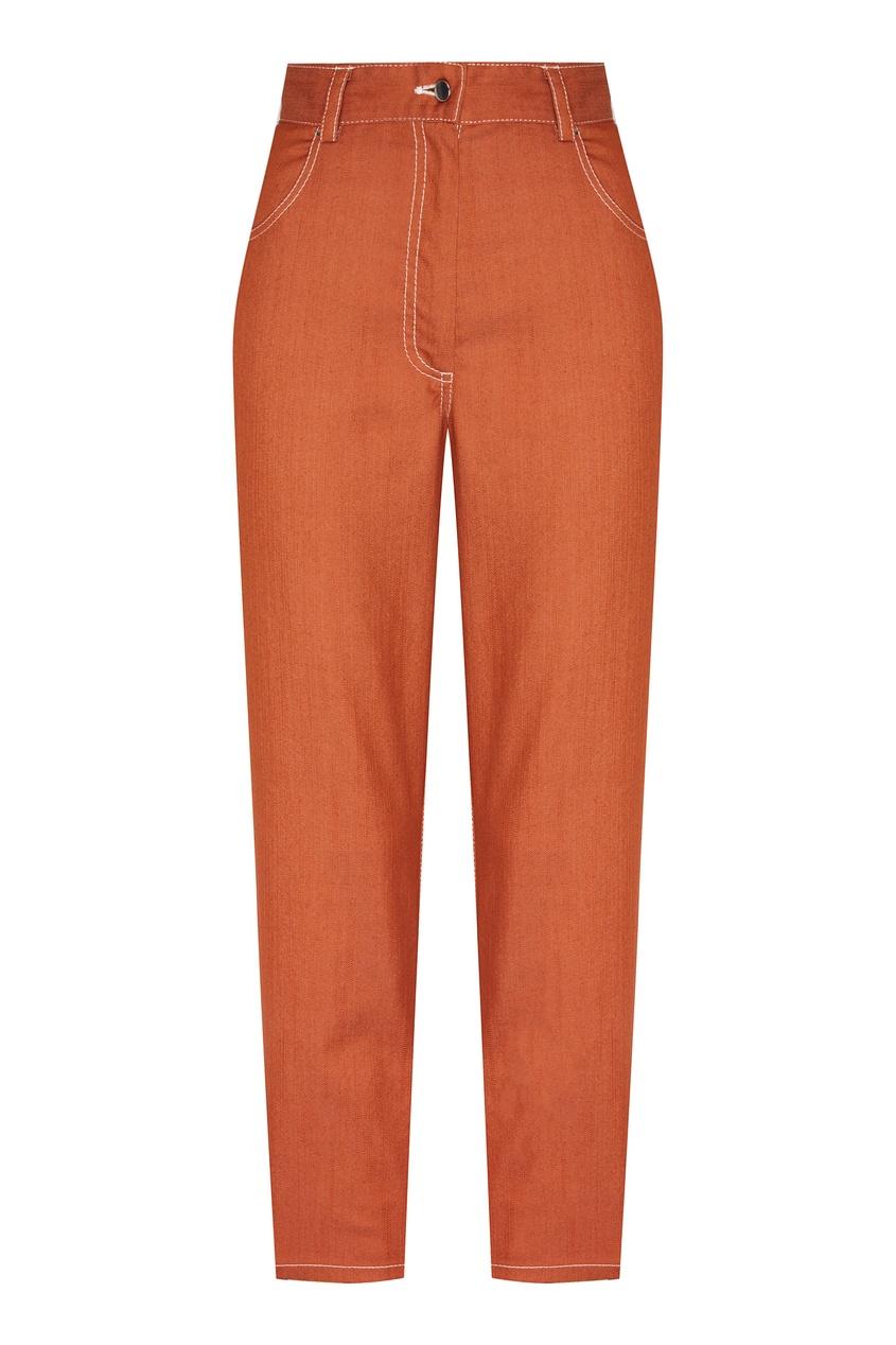 Купить Коричневые джинсы от Daniil Antsiferov коричневого цвета