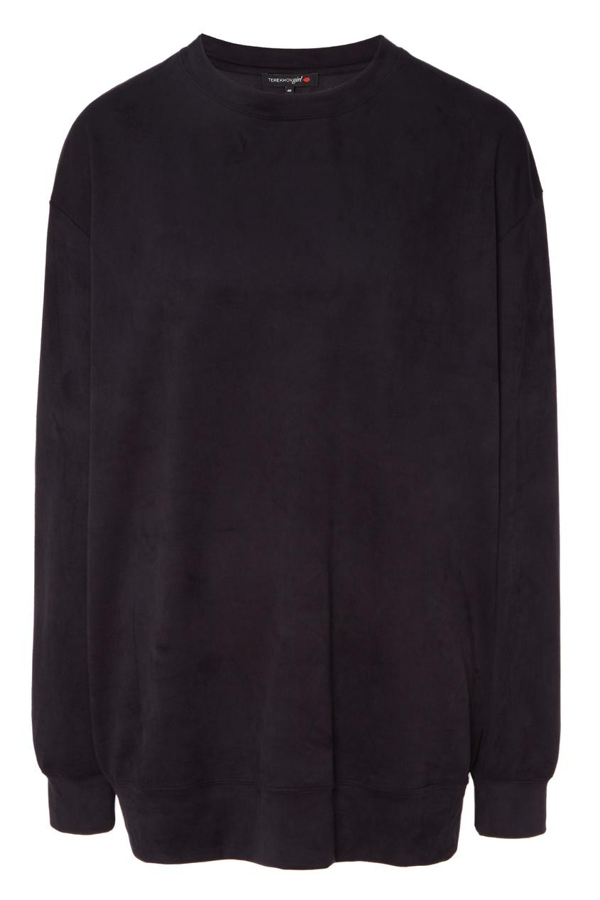 Купить Черный свитшот от Terekhov Girl черного цвета