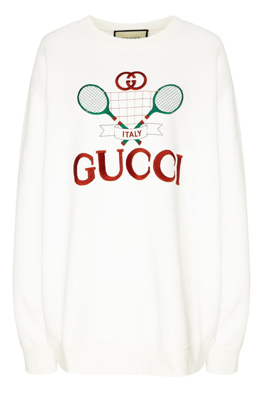 Свитшот оверсайз Gucci Tennis