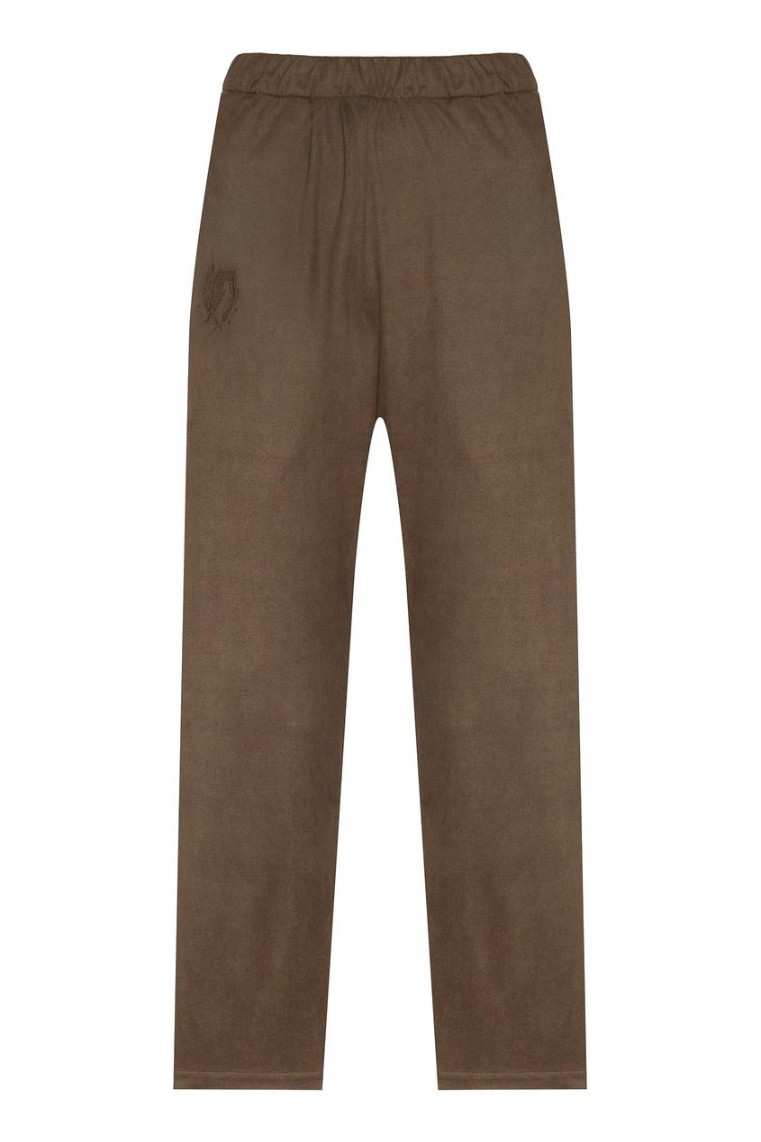 Купить Бежевые брюки от FWDlab серого цвета