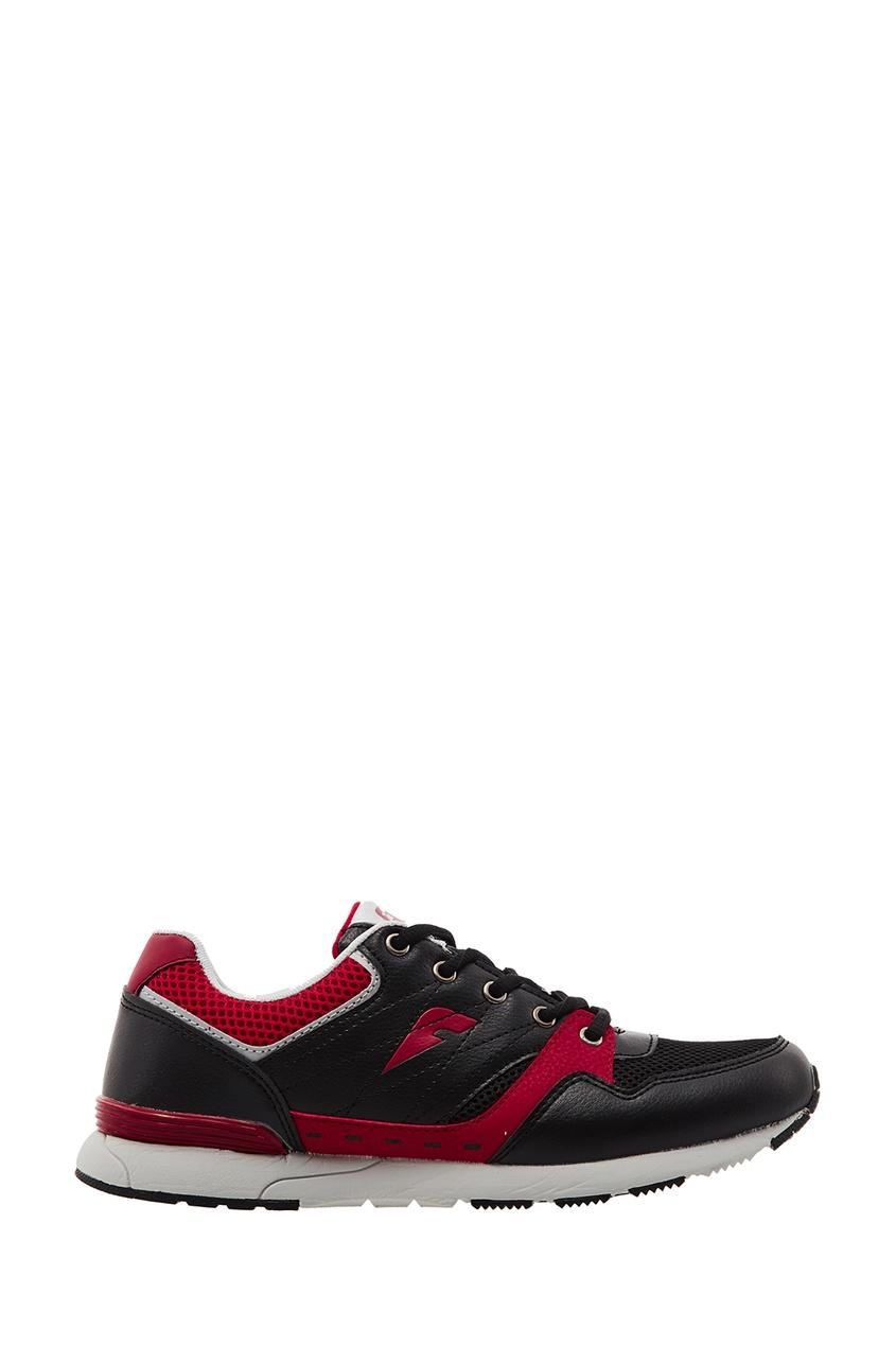 Черные кроссовки с контрастными вставками FWDlab