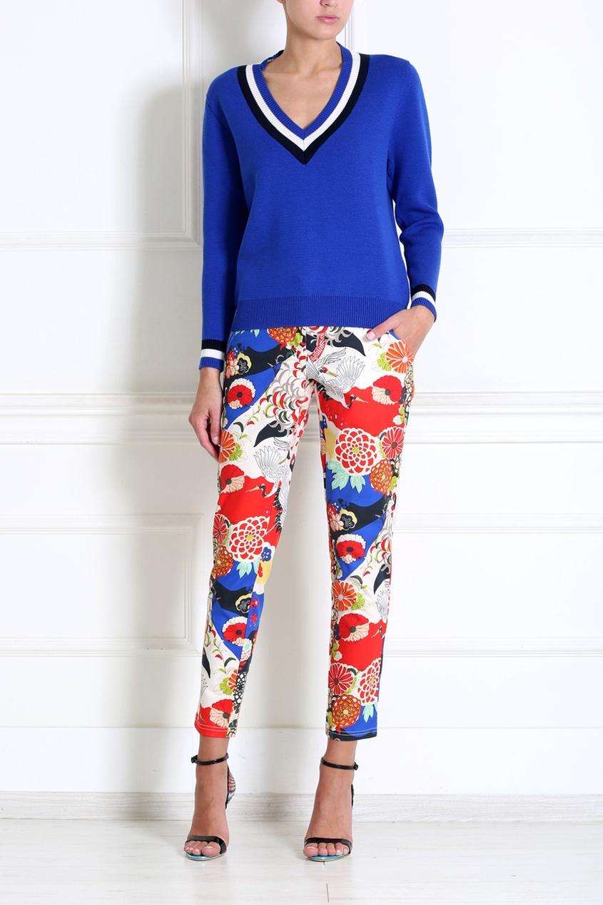Carven Хлопковые брюки